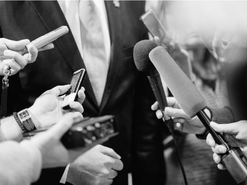 Difusión de evento en medios de comunicación