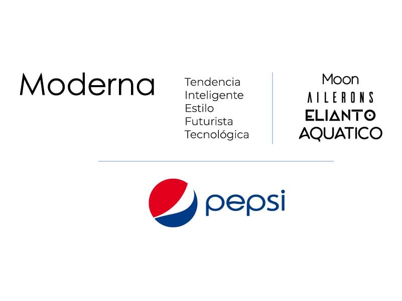 Ejemplos de Tipografía moderna